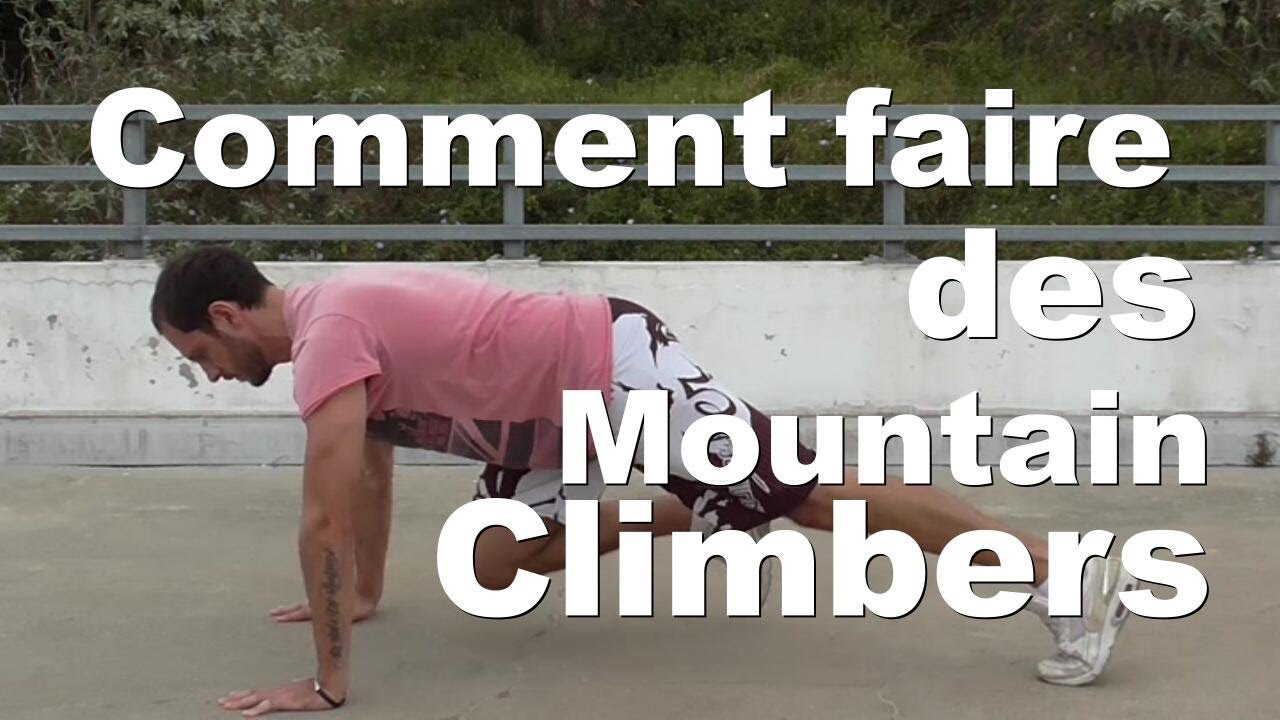 Comment Faire Des Mountain Climbers