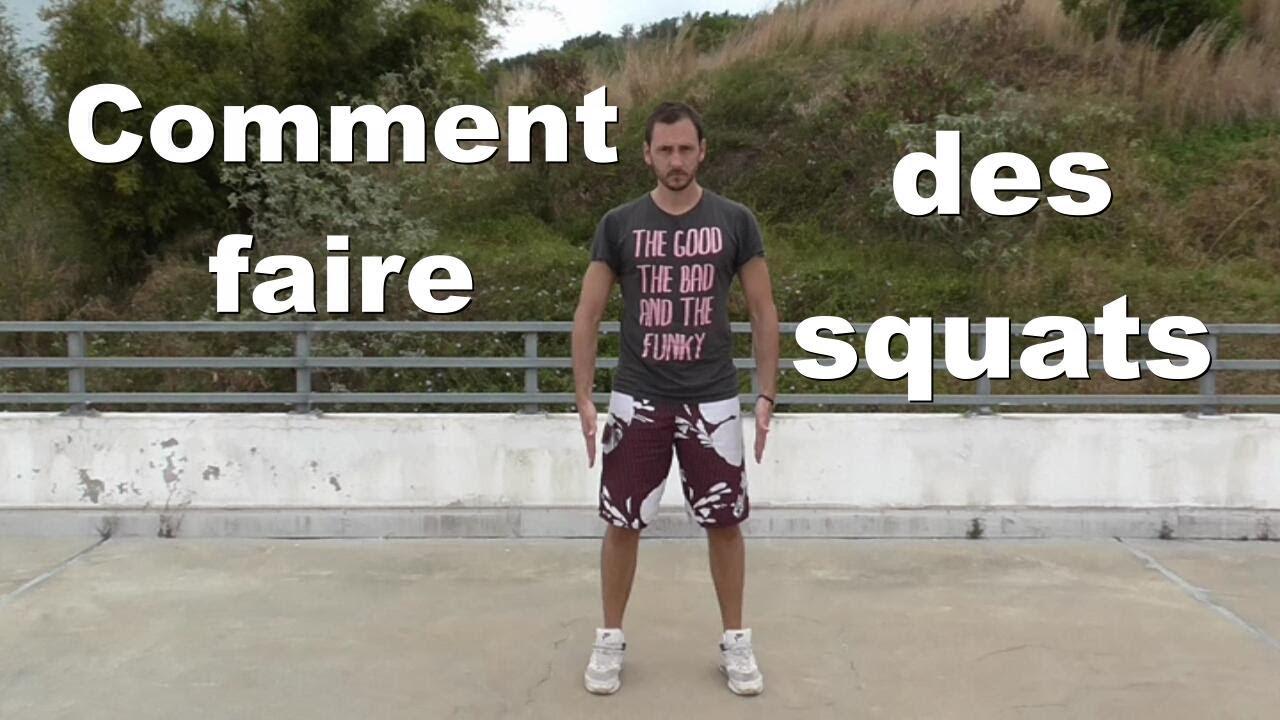 Comment Faire Des Squats Et Ne Plus être Ridicule: 4 Variantes