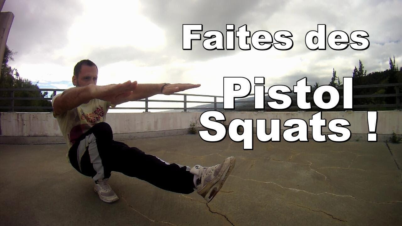 Pistol Squats