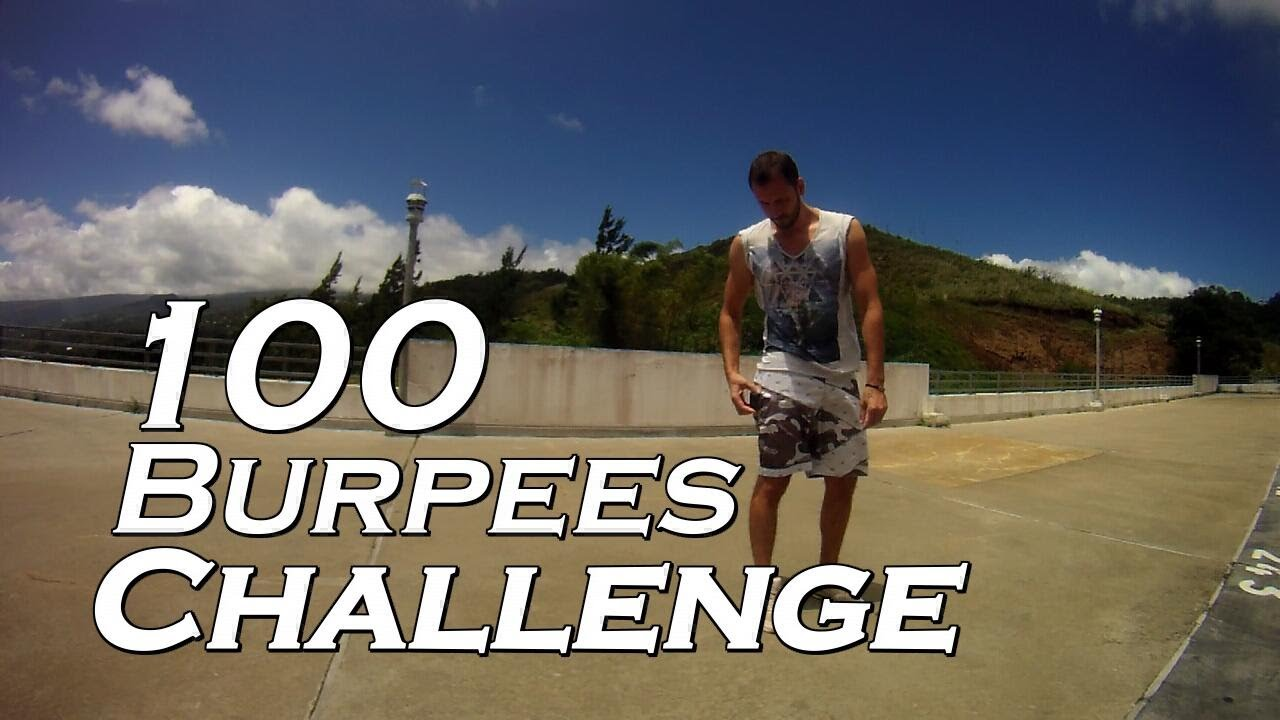 100 Burpees – Le Challenge En Or !