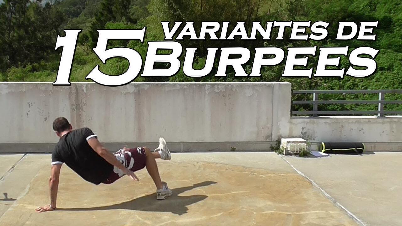 15 Variantes De Burpees Sans Matériel