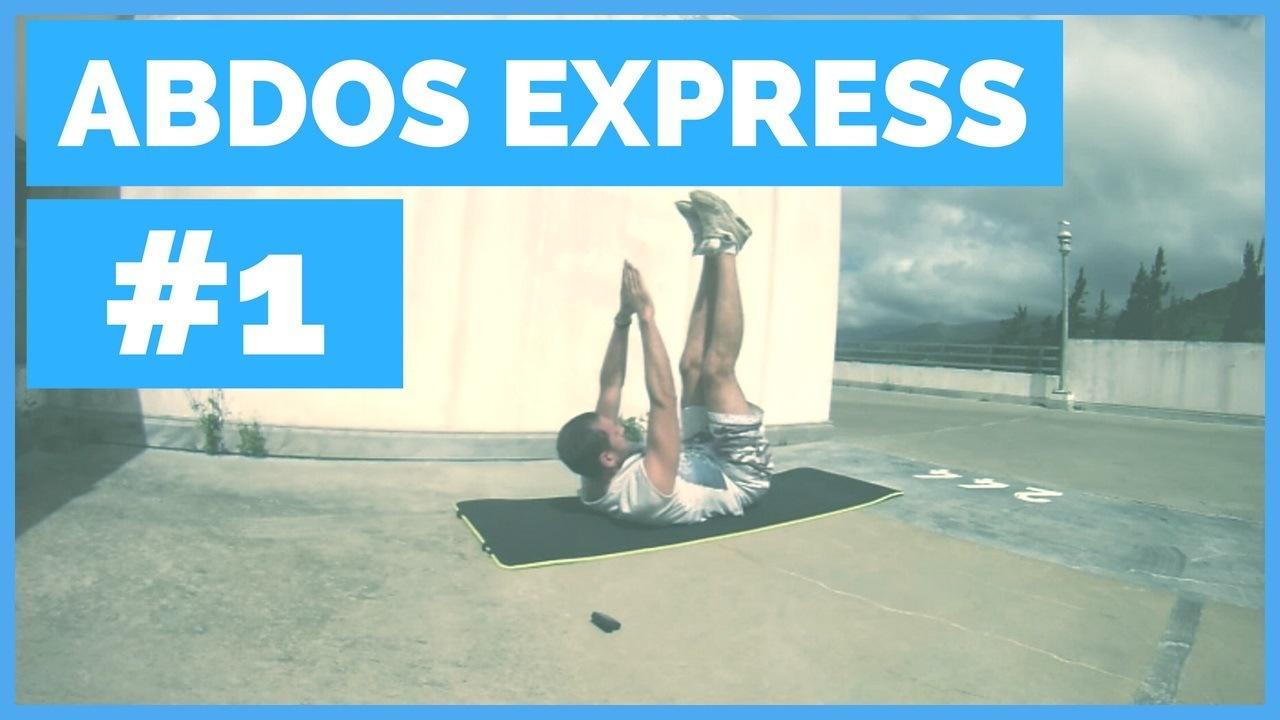 Séance Abdos Express #1: Pour Ceux Qui Sont Pressés