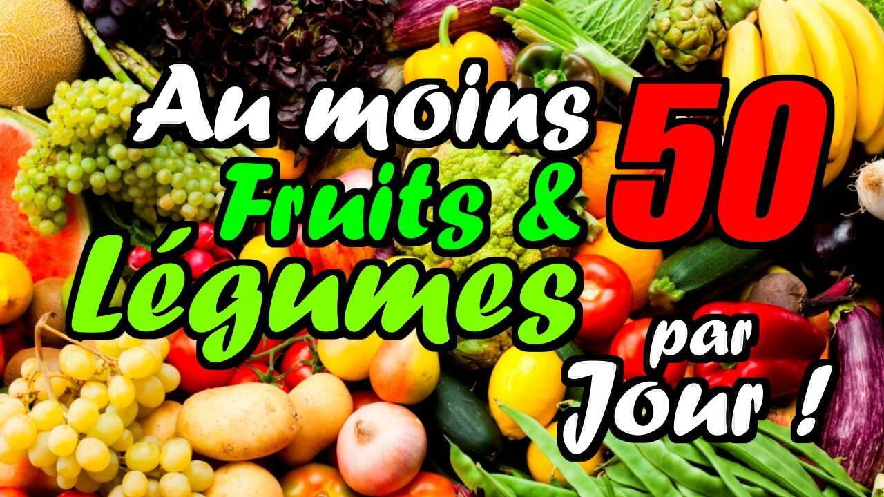 5 Fruits Et Légumes Par Jour… Mais Bien Sûr !