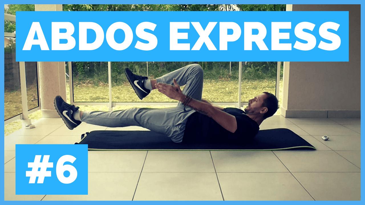 Abdos Express #6: Séance D'abdos Rapide Et Efficace