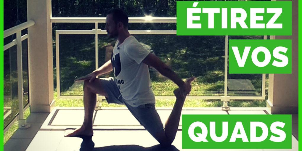 assouplir les quadriceps