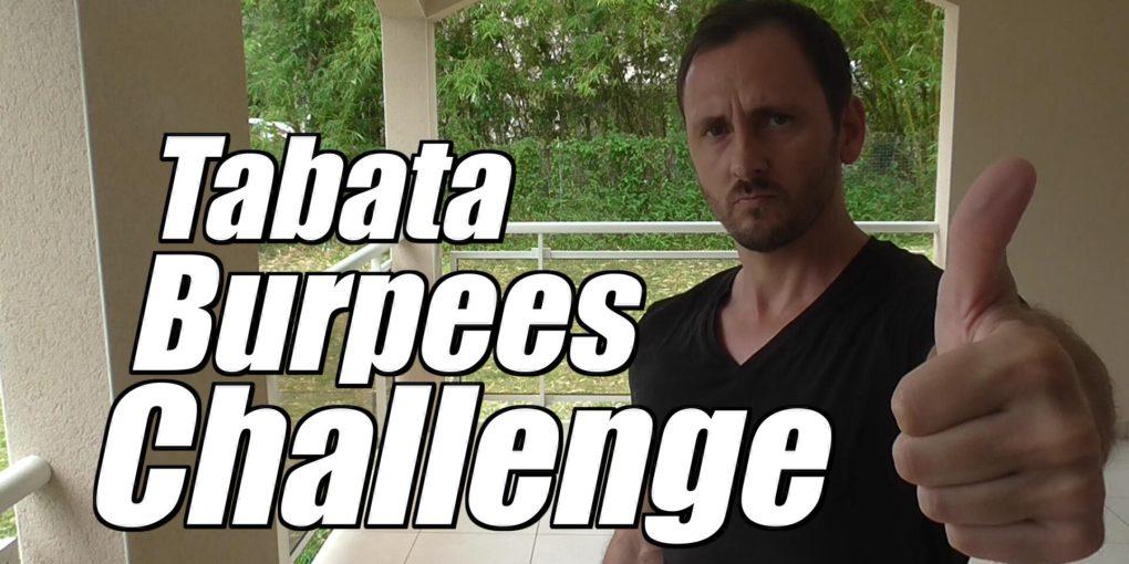 tabata burpees challenge