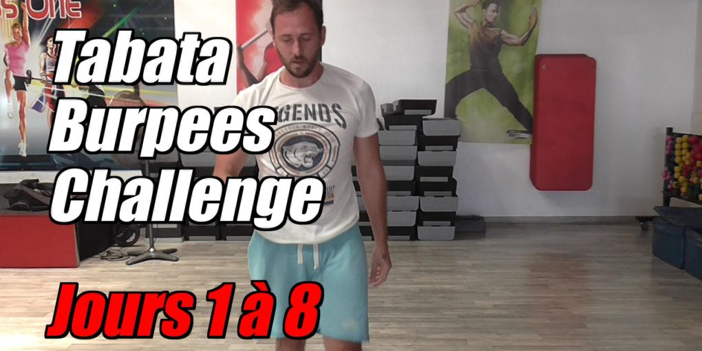 Tabata Burpees Challenge: Bilan 1