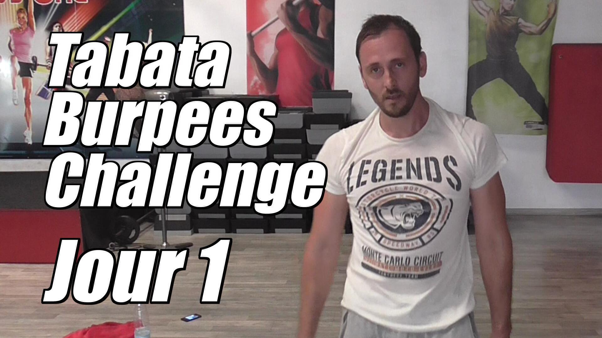 Tabata Burpees Challenge: Jour 1