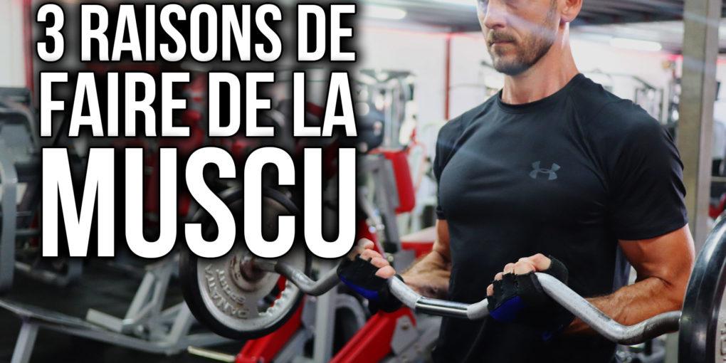 3 raisons de faire de la musculation